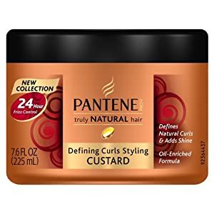 Pantene Pro-V Truly Natural Hair Defining Curls Styling Custard 7.6 Fl Oz