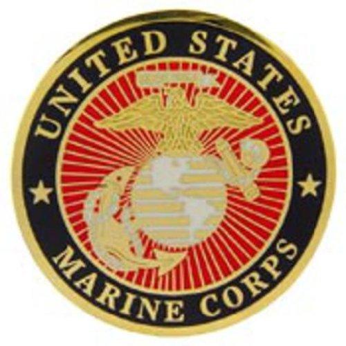 U.S.M.C. Logo Pin 1 1/2