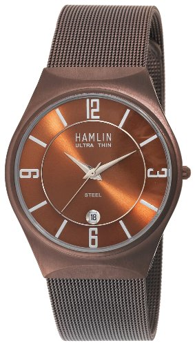 Hamlin Women's HAML0904:005/04E92LL Ionic Brown Plated Mesh Bracelet Watch