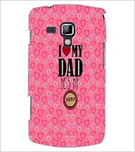PrintDhaba Quote D-2289 Back Case Cover for SAMSUNG GALAXY S DUOS S7562 (Multi-Coloured)