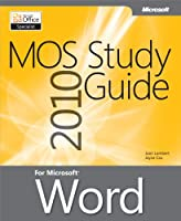 MOS 2010 Study Guide for Microsoft Word Front Cover