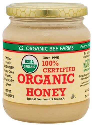 YS Organic Bee Farms - Organic Honey, 16 oz gel
