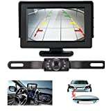 LeeKooLuu 7 LED Night Vision Backup Camera + 4.3