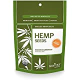 Navitas Naturals Organic Raw Hemp Seeds, 8-Ounce Pouches (Pack of 2)