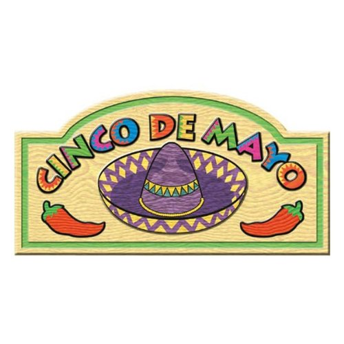 Cinco De Mayo Sign Party Accessory (1 count)