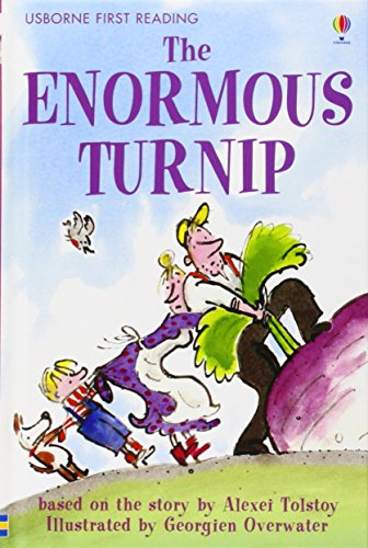 The Enormous Turnip: Level 3 (Usborne First Reading)