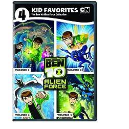 4 Kid Favorites Cartoon: Ben 10 Alien Force