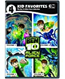 4 Kid Favorites Cartoon Network Ben 10 Alien Force