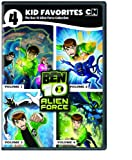 Cover art for  4 Kid Favorites Cartoon: Ben 10 Alien Force