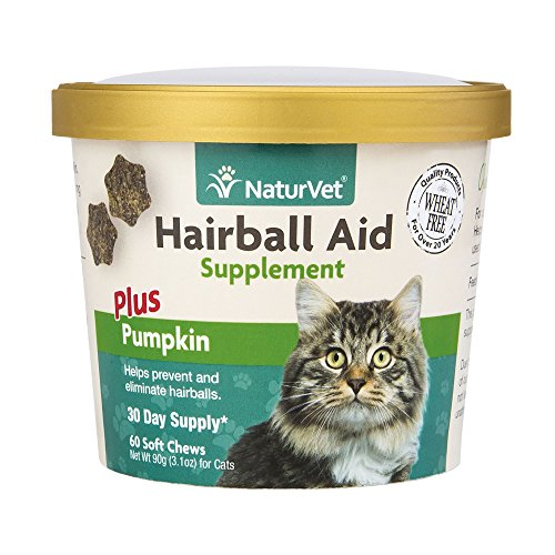 naturvet-hair-ball-aid-supplements-plus-pumpkin-soft-chew-cup-for-cats-60ctps