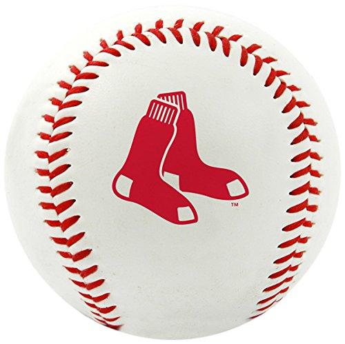 MLB Boston Red Sox Team Logo Baseball, Official, White