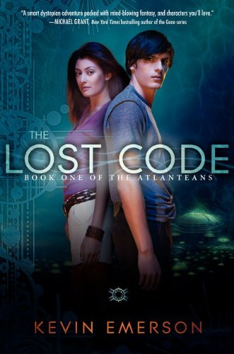 Cover of The Lost Code: Book One of the Atlanteans