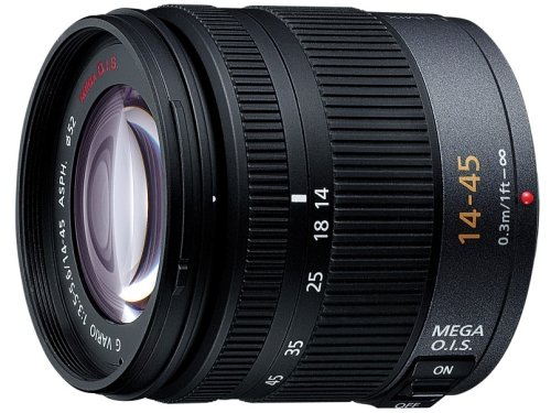Panasonic マイクロフォーサーズ用  14-45mm  F3.5-5.6 標準ズーム G VARIO ASPH. MEGA O.I.S H-FS014045