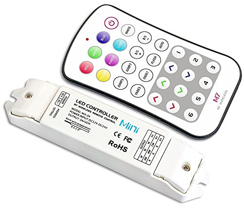 Alightings M7 LED Controller Switch Control RGB Strip Tape Lighting 5050 Ribbon Lamp (5 Year Warranty) (M7 RGB Key)