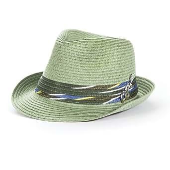 Carlos Santana Braided Fedora at Amazon Men's Clothing store: Cold