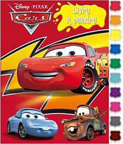 Cars : mon livre à peindre