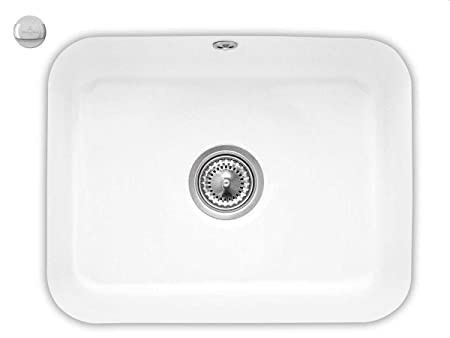 Villeroy & Boch Cisterna 60C Snow White Weiß Unterbauspule Kuche Keramik-Spule
