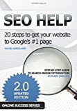 SEO Help: 20 steps to get your website to Google's #1 page 2nd edition