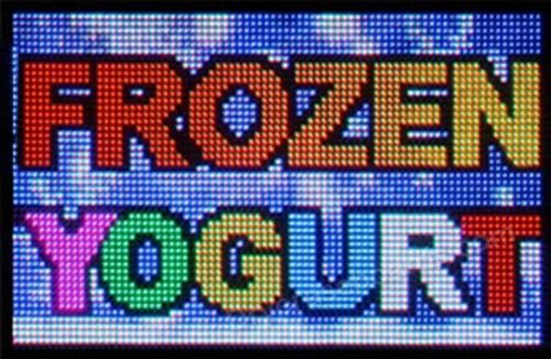 "Full Color Indoor/Outdoor Programmable Message Sign - 32""H X 60""L X 3""D"