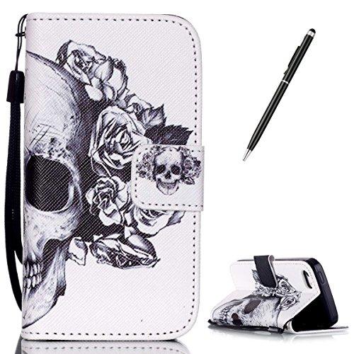 casehome-iphone-se-5s-5-custodia-gratuito-nero-stilo-penna-premio-pu-cuoio-stile-del-libro-foglio-ma