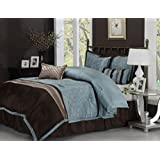 Impressions  7-Piece Luxurious Comforter  Set, Queen, Carleton