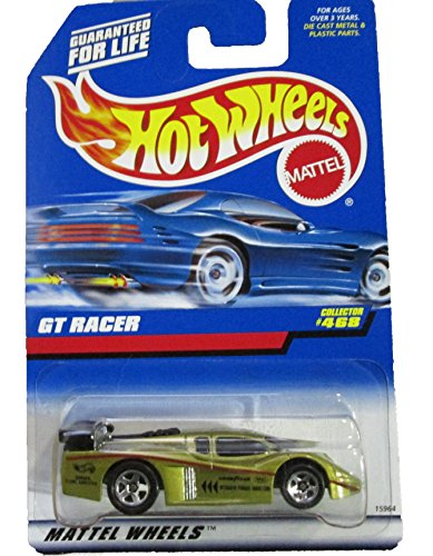 #468 GT Racer Gold 5-Spoke Collectible Collector Car Mattel Hot Wheels 1:64 Scale
