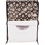 Dream Care Floral Black Printed Waterproof & Dustproof Washing Machine Cover For IFB Front Load Senorita-SX 6.5kg...