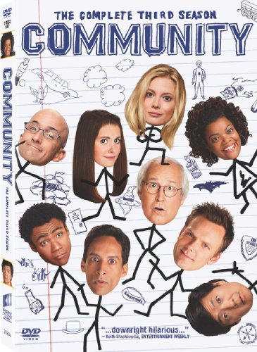 Community: The Complete Third Season starring Gillian Jacobs, Mr. Media Interviews
