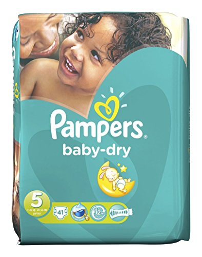 Pampers - Baby Dry Taille 5 Lot De 82 Couches(2X 41) 11-25Kg