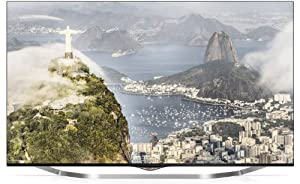 LG 49UB850V 123 cm (49 Zoll) Cinema 3D LED-Backlight-Fernseher (Ultra HD, 1000Hz UCI, DVB-T/C/S, CI+, Wireless-LAN, Smart TV) schwarz/silber