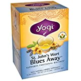 Yogi Tea St. John'S Wort Blues Away, Herbal Supplement, Tea Bags, 16 ct