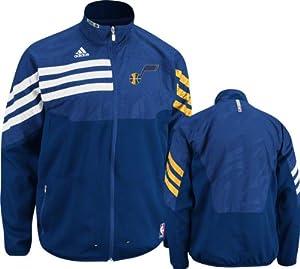 NBA adidas Utah Jazz On-Court Warm-Up Jacket by adidas