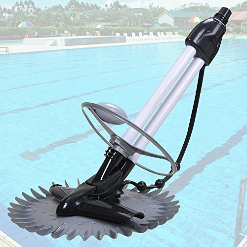 Yescom New Automatic Swimming Pool Cleaner Inground Above Ground 33 Hose 1 Year Warranty