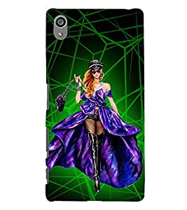 Heroine Cinima Movie Cute Fashion 3D Hard Polycarbonate Designer Back Case Cover for Sony Xperia Z5 Premium (5.5 Inches) :: Sony Xperia Z5 Premium Dual