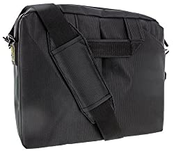 roocase iPad Air and Netbook Carrying Bag with Handle and Shoulder Strap - Fits 7 to 10-Inch Tablets, Black