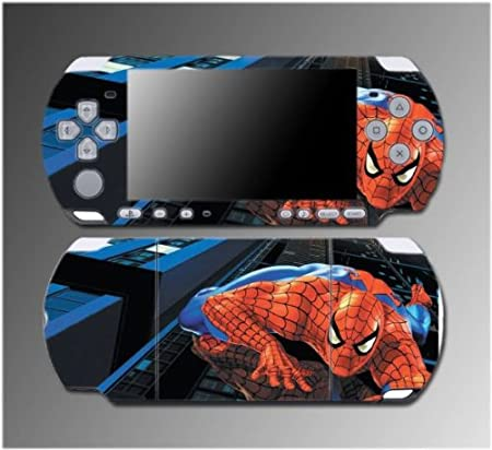 Spiderman Amazing Spider Man 1 2 3 Movie Game Vinyl Decal Sticker Cover Skin Protector #1 for Sony PSP Slim 3000 3001 3002 3003 3004 Playstation Portable