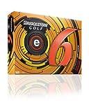 BRIDGESTONE 1b3e6o E6 Distance Golf Ball Orange