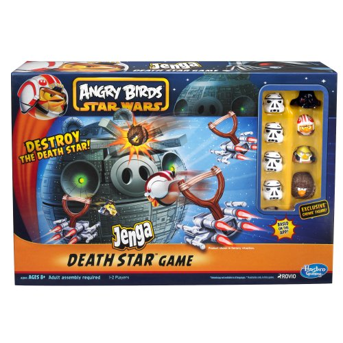 Angry Birds Wars Star Fighter Pods Jenga Estrella de la Muerte