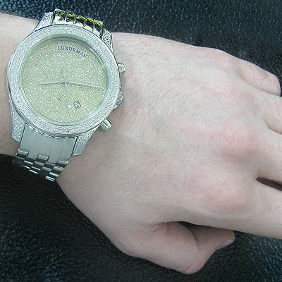 Affordable Wristwatches Luxurman Diamond Watch 0.50ct