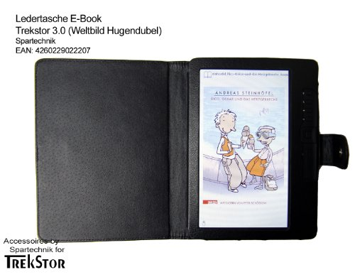 Tasche-fr-Trekstor-30-von-Hugendubel-Weltbild-Jonkers-E-Book-Reader-bestes-Case-fr-E-Book-Reader-Trekstor-3-Elektronisches-Buch-schwarz