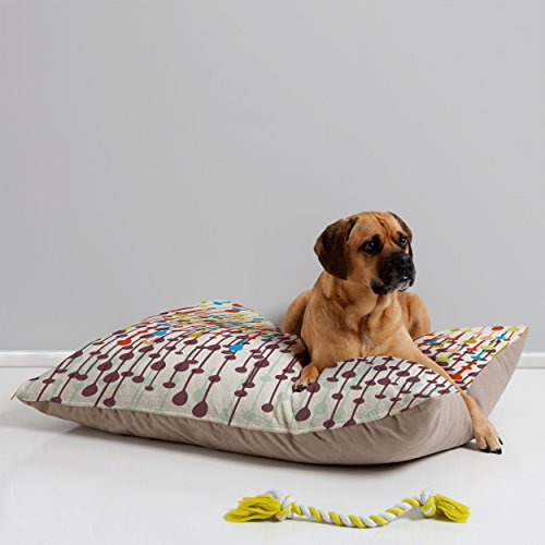 Deny Designs Khristian A Howell Candy Chandelier Pet Bed, 40 By 30-Inch front-42372