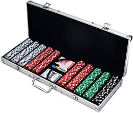 Trademark Poker 500 Dice Style 11.5-Gram Poker Chip Set