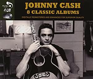 8 Classic Albums [Audio CD] Johnny Cash