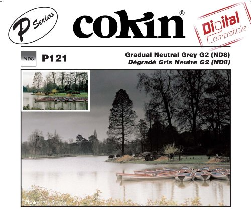 Cokin P121 Grad Grey G2 (ND8) Square Filter
