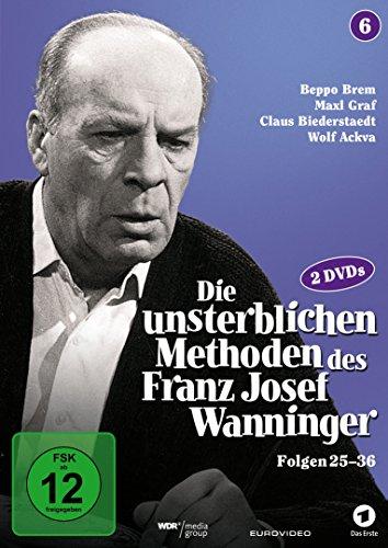 Die unsterblichen Methoden des Franz Josef Wanninger - Box 6, Folgen 25-36 [2 DVDs]