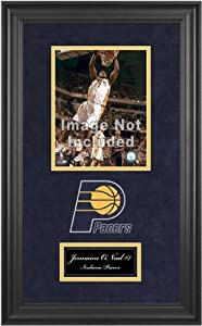 Indiana Pacers Deluxe 8x10 Team Logo Frame by Mounted Memories