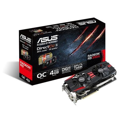 Asus AMD Radeon R9 290X DirectCU II Graphics Card (4GB Black Friday & Cyber Monday 2014