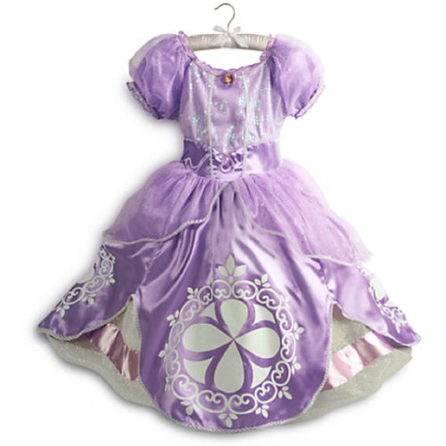 Disney - Sofia the First Costume for Girls - Size 7/8 - New with Tags