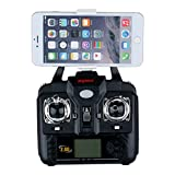 Syma-X5SW-Camcorder-mit-WIFI-Kamera-RC-Quadrocopter-Drohne-4-Kanal-6-Achse-3D-Eversion-Echtzeit-bertragung-Mudus-2-360-Flip-Funktion-Schwarz