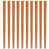 日本製 業務用 エコ箸 10膳セット(明茶色) SPS樹脂使用ECO箸 食器洗浄器・高温保管庫対応 22.5cm×3mm角(箸先)  Eco Friendly  sps resin Chopsticks